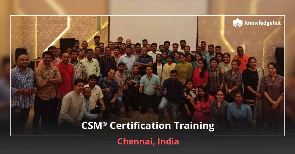 CSM Training in Chennai | Scrum Master Certification Chennai
