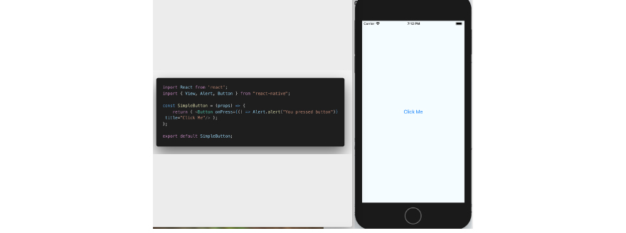 Basic button in React Native