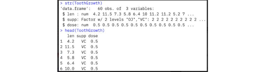 Sample data information