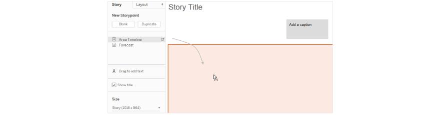 Tableau stories(Title)