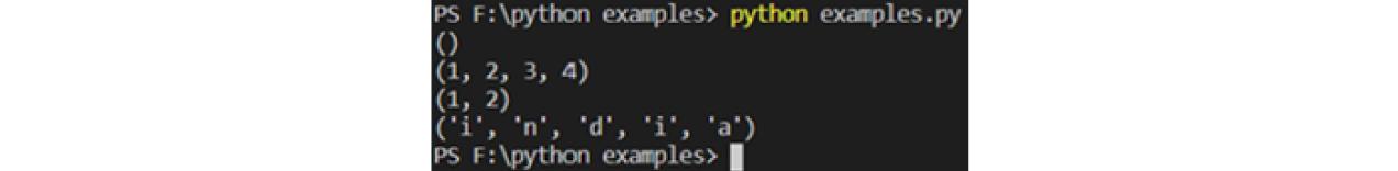 tuple example