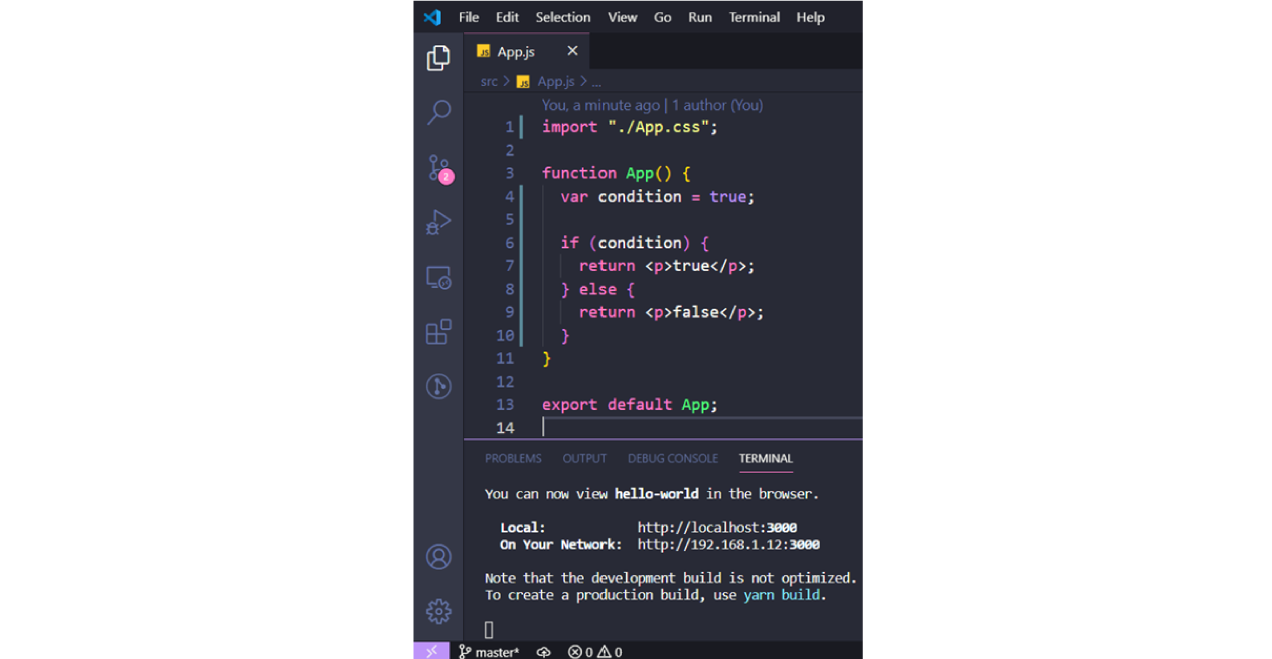 What are the components in React JS