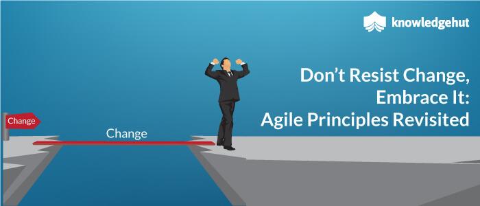 Don't Resist Change, Embrace It: Agile Principles Revisited