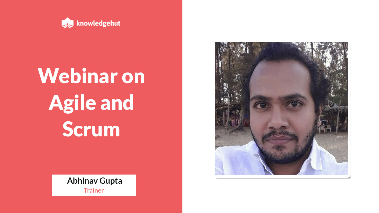 Webinar on Agile and Scrum | KnowledgeHut