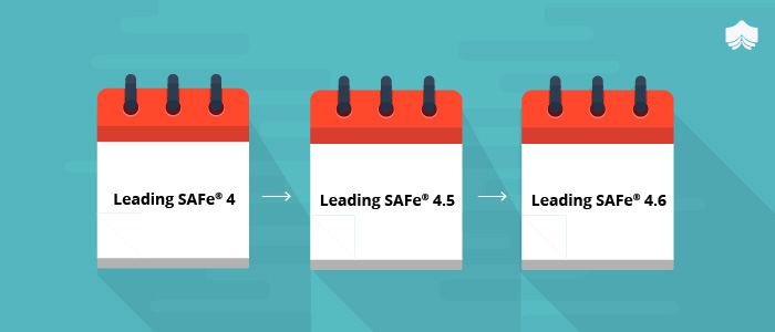 A Glimpse Of The Major Leading SAFe® Versions