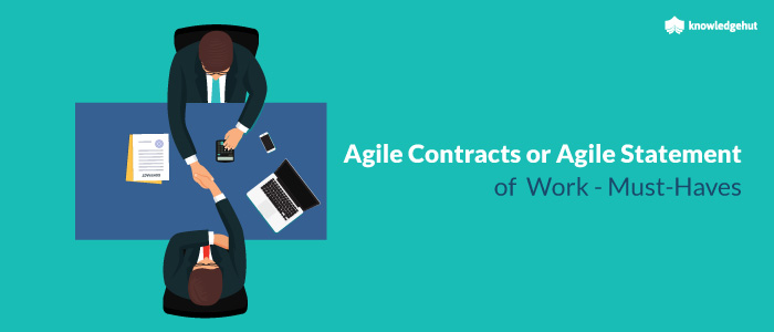 Agile Contracts or Agile Statement of Work - Must-Haves
