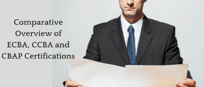 Comparative Overview of ECBA, CCBA and CBAP Certifications