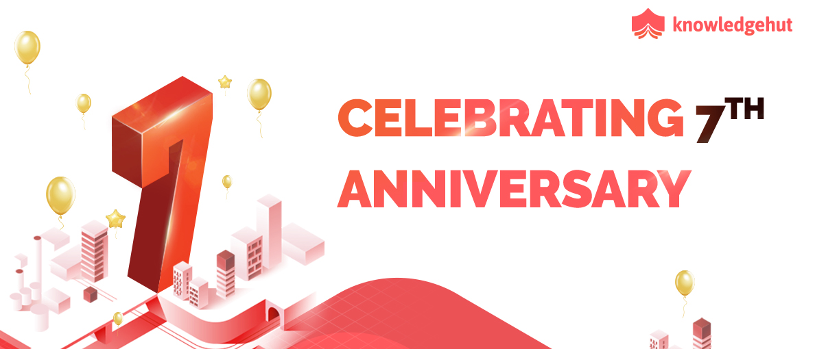 KnowledgeHut Celebrates 7 Years Of Continuous Learning And Knowledge Delivery