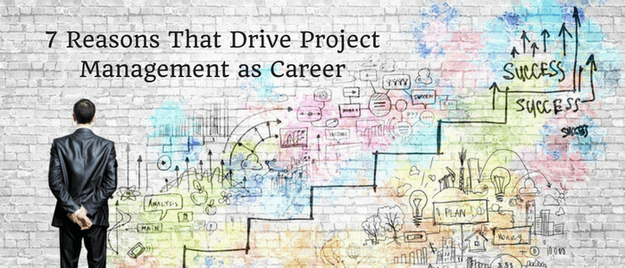 Top 7 Reasons That Drive Project Management as Career