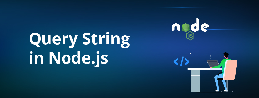 What is query string in Node.js?