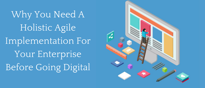 Why You Need a Holistic Agile Implementation For Your Enterprise Before Going Digital?