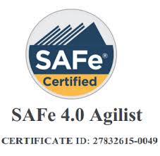 Certified SAFe Agilist